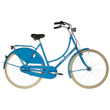 Vélo Hollandais ORTLER VAN DYCK WAVE Bleu Pétrole 2019